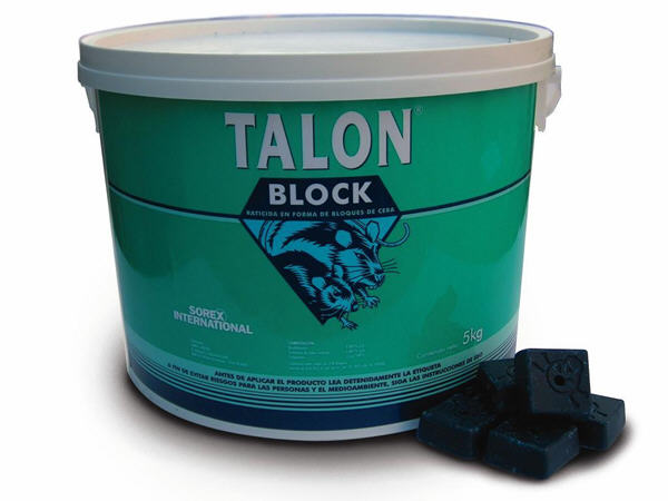 Raticida Talon Block